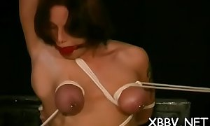 Obedient honey rough breast bondage xxx bdsm show