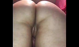 White thick pawg gets up close creampie by dicknastytheillest doggie style