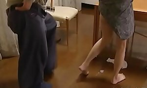 Big titted asian older gets fucked hard in doggystyle