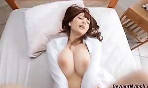 Gorgeous breasty oriental fleshly sex