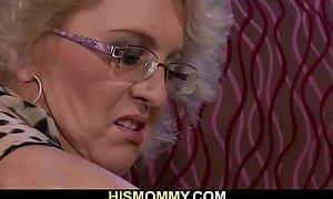 She is awakened by slutty lesbo mamma