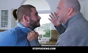 Big tits milf aunt caught fucking younger nephew-STEPFUCKING.COM