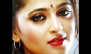 Anushka Shetty Cumtribute