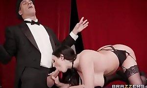 Sexy australian angela white hard anal drilled in uniform full on palimas.tv