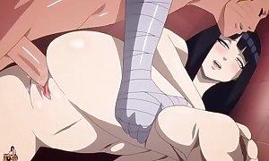 Naruto folla con hinata