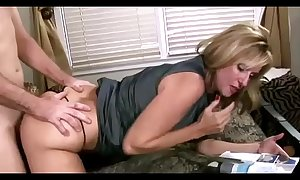 Mom let son fuck her to help him with his boner