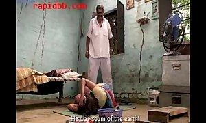 Village BBC bitch abused by richman