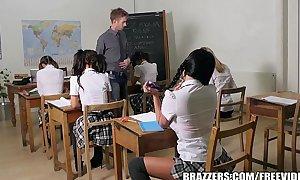 Brazzers - juvenile school non-professional BBC slut does it right